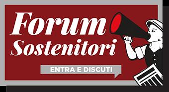 Entra nel Forum Sostenitori