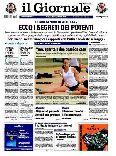 Sbatti la tredicenne in prima pagina il fatto quotidiano - Diva e donne giornale ...