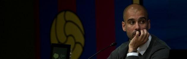 """Barcellona, l'addio di Guardiola: """"Devo riposare, forse mi fermo per un anno"""""""