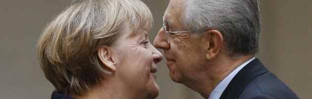 Asse Roma-Berlino per la crescita e rigore. Svelato patto segreto tra Monti e Merkel