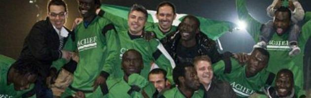 L'AfroNapoli fa sul serio: la squadra dei migranti iscritta a un campionato Figc