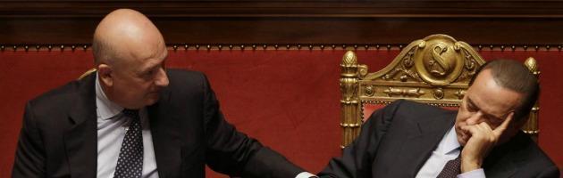 """Pdl, Bondi si dimette ma Silvio Berlusconi: """"Io e Alfano le respingiamo"""""""