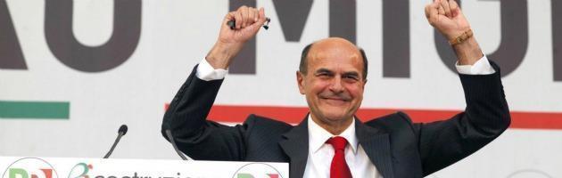 """Bersani: """"Pd senza padroni né ad Arcore né sul Web"""". A Grillo: """"Non si guida dai box"""""""