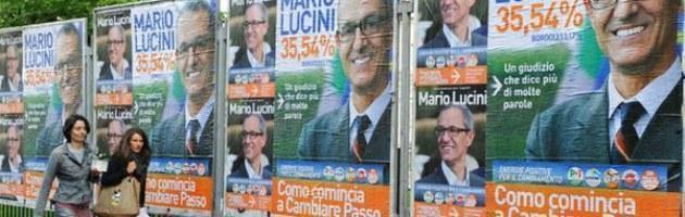 Da Como a Monza crollano le roccaforti di Bossi e Berlusconi nel cuore del Nord