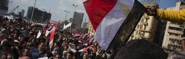 Egitto, proteste contro i militari al Cairo. Timore di un rinvio elettorale