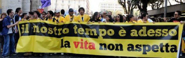 Giovani e precari in piazza a Roma il 26 maggio