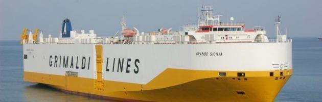 Carico di munizioni sul cargo Grimaldi. Sequestro nel porto di Tripoli