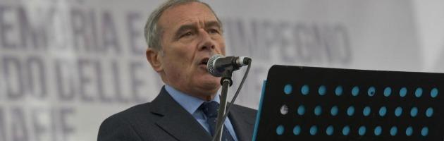 """Antimafia, il procuratore Grasso: """"Berlusconi e il suo governo da premio"""""""