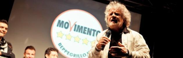 """Grillo ai ballottaggi: """"Forza belin!"""". E ora punta al traguardo delle politiche"""
