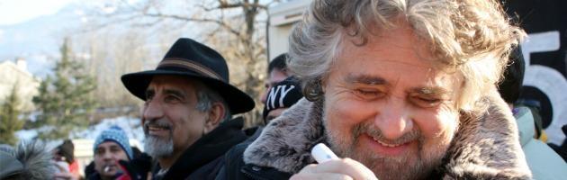"""Grillo al processo No Tav: """"Sono persone per bene. Giustizia forte coi deboli"""""""