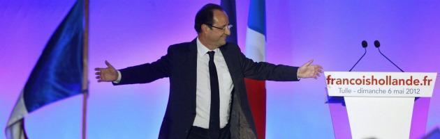 La mossa di Hollande: taglio del 30% sugli stipendi dei membri del Governo