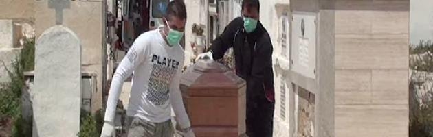 lampedusa cadavere migrante