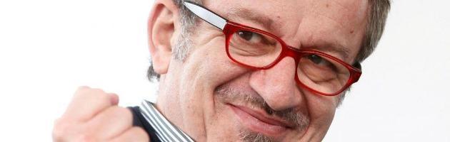 """""""Basta imu"""" e """"basta Monti"""". La Lega di protesta si riunisce a Bergamo"""