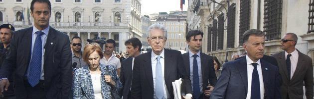 "Monti: ""Vittime crisi? Devono far riflettere chi l'ha causata, non chi vuole risolverla"""
