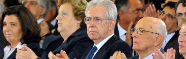 9 novembre 2011, Monti nominato senatore a vita: per Berlusconi è finita
