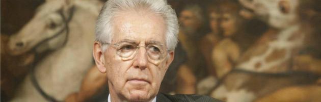 """Equitalia, Monti ringrazia i dipendenti. """"In Italia obiettivo crescita, non austerità"""""""