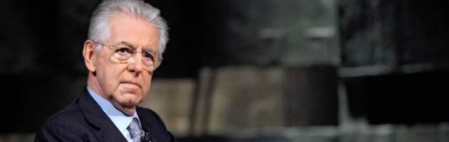 """Monti: """"Eurobond? Non possiamo prendere a pugni la Germania"""""""