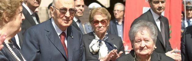 """Mafia, Napolitano e il rischio stragi: """"Ancora pericoli, ma vigileremo"""""""