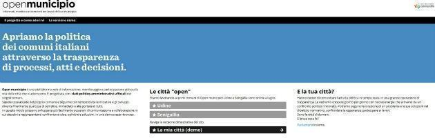 OpenMunicipio, la trasparenza online della politica parte dal Comune