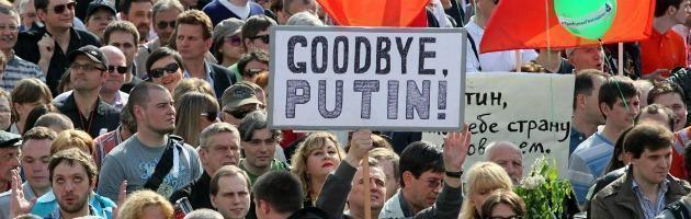 Mosca, in 50mila al corteo contro Putin: arrestati i tre leader dell'opposizione