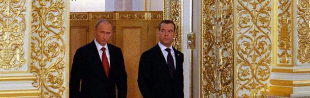 Russia, per Putin inizia il terzo mandato. Berlusconi ospite d'onore