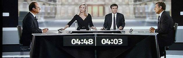 """Voto in Francia dibattito tv, Sarkozy scarica Berlusconi: """"Non è mio amico"""""""