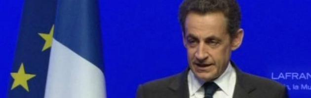 """Sarkozy lascia la politica. """"Volterò pagina, adesso voglio vivere normalmente"""""""
