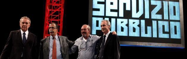 """Servizio Pubblico, """"Mani in tasca"""": ospiti Tremonti, Fassina e Di Pietro"""