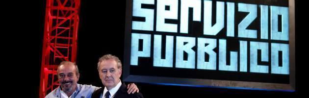 """Servizio Pubblico, """"La sciagura sei tu!"""": ospiti in studio Fini, Salvini e Landini"""