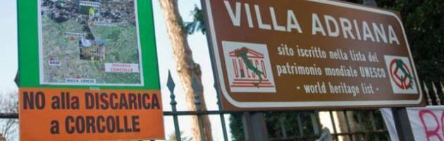 Rifiuti, il governo si spacca su Corcolle. Ed è rivolta in difesa di Villa Adriana