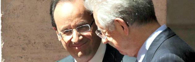 Il socialista e il professore, lo strano asse Roma-Parigi per limitare la Merkel