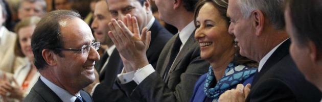 Francia, dopo il primo turno Hollande verso la maggioranza assoluta