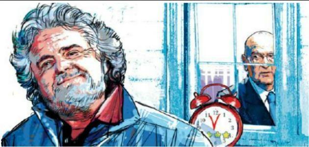 """Beppe Grillo: """"Non fregheranno i 5 stelle con Saviano, Passera o Montezemolo"""""""