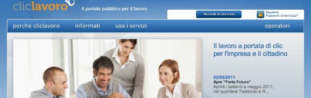 Cliclavoro, il sito del ministero che agli italiani costa due milioni di euro l'anno