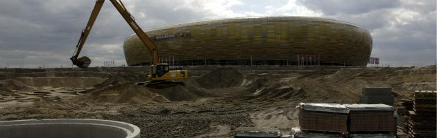 Europei 2012, tra ritardi e incompiute al via il torneo delle polemiche