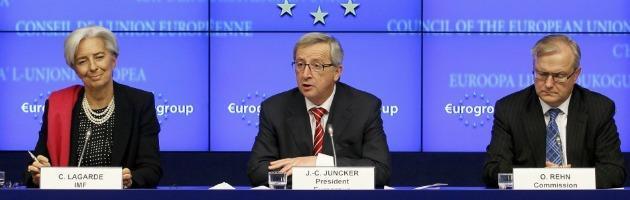 """Crisi, Lagarde (Fmi) all'Ue: """"Stadio critico"""". E l'Eurogruppo si divide sulla Grecia"""