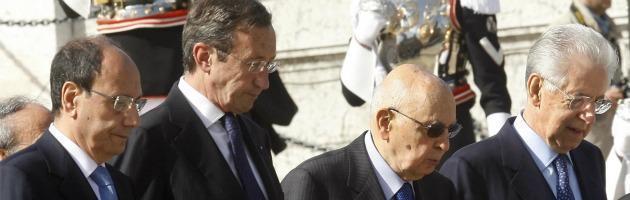 """Due giugno, scontro sugli sprechi. Di Pietro a Napolitano: """"Offende gli italiani"""""""