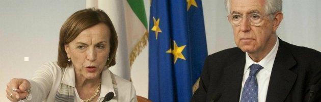 Esodati, nonostante gli errori il decreto è stato firmato da Monti e Fornero