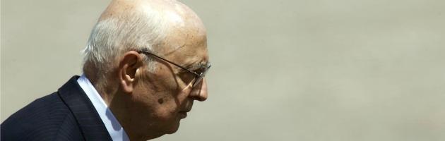 """Intercettazioni, Napolitano: """"Questione da risolvere con larghe intese"""""""