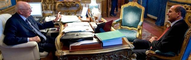 """Trattativa Stato-mafia, Bersani: """"Napolitano presidio della democrazia"""""""