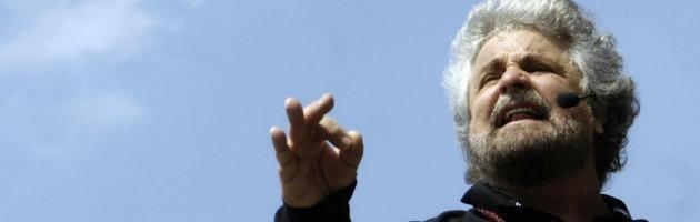 """M5S, Grillo: """"Pagare per andare in tv è come andare al proprio funerale"""""""