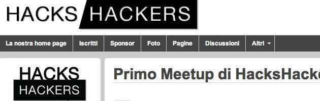 hacks hackers milano 13 giugno