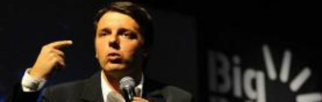 """Renzi: """"Di Pietro? Da rottamare come tutti gli altri"""""""