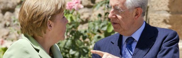 Crisi, primo risultato per Monti: apertura tedesca al sistema anti-spread