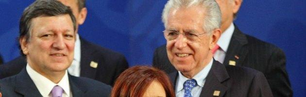 """G20, Monti: """"Salva-stati per ridurre spread. Salvataggio? Problema non si pone"""""""