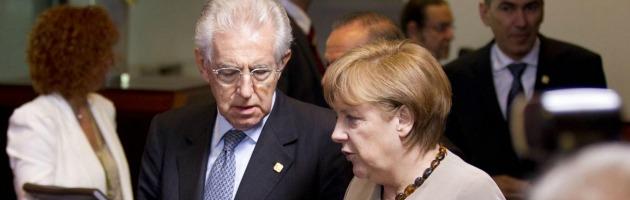 """Monti, il premier in prima pagina sul New York Times: """"Esorta Merkel alla crescita"""""""