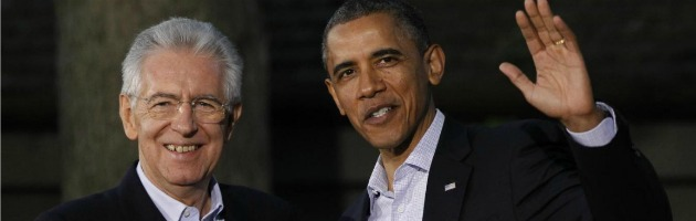 """Obama chiama Monti: """"Usa seguono impegno del governo per la crescita"""""""