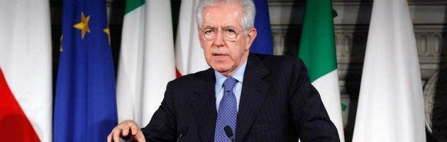 """Monti: """"Il governo ha perso l'appoggio di poteri forti e Confindustria"""""""