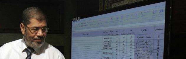 """Elezioni Egitto, i Fratelli Musulmani: """"Abbiamo vinto"""". Ma Shafiq contesta i dati"""