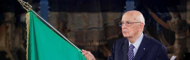 """Voto anticipato, Giorgio Napolitano: """"Di questo ora non parlo"""""""
